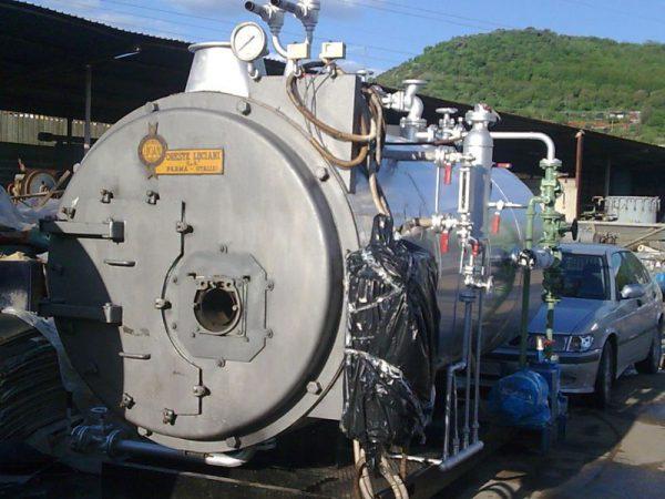 Generatore di vapore 1000 kg/h a 12 bar